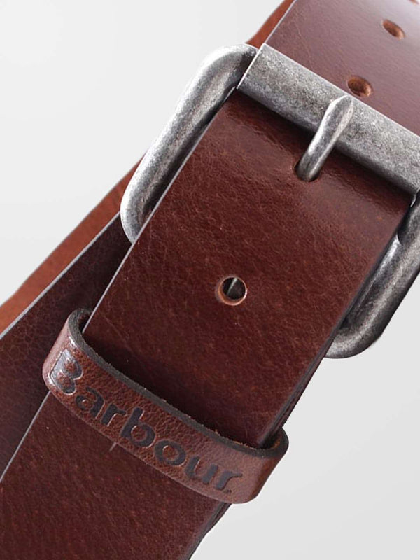 BARBOUR Allanton Leather Belt