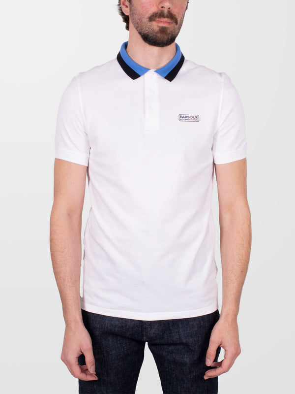 BARBOUR INTL. White Ampere SS Polo