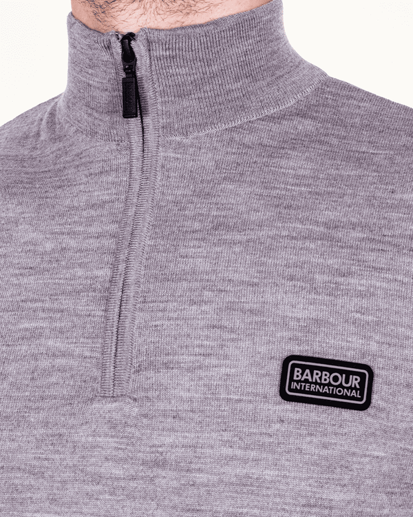 BARBOUR INTL. Absorb Merino Half Zip Sweater - Revolver Menswear Bawtry