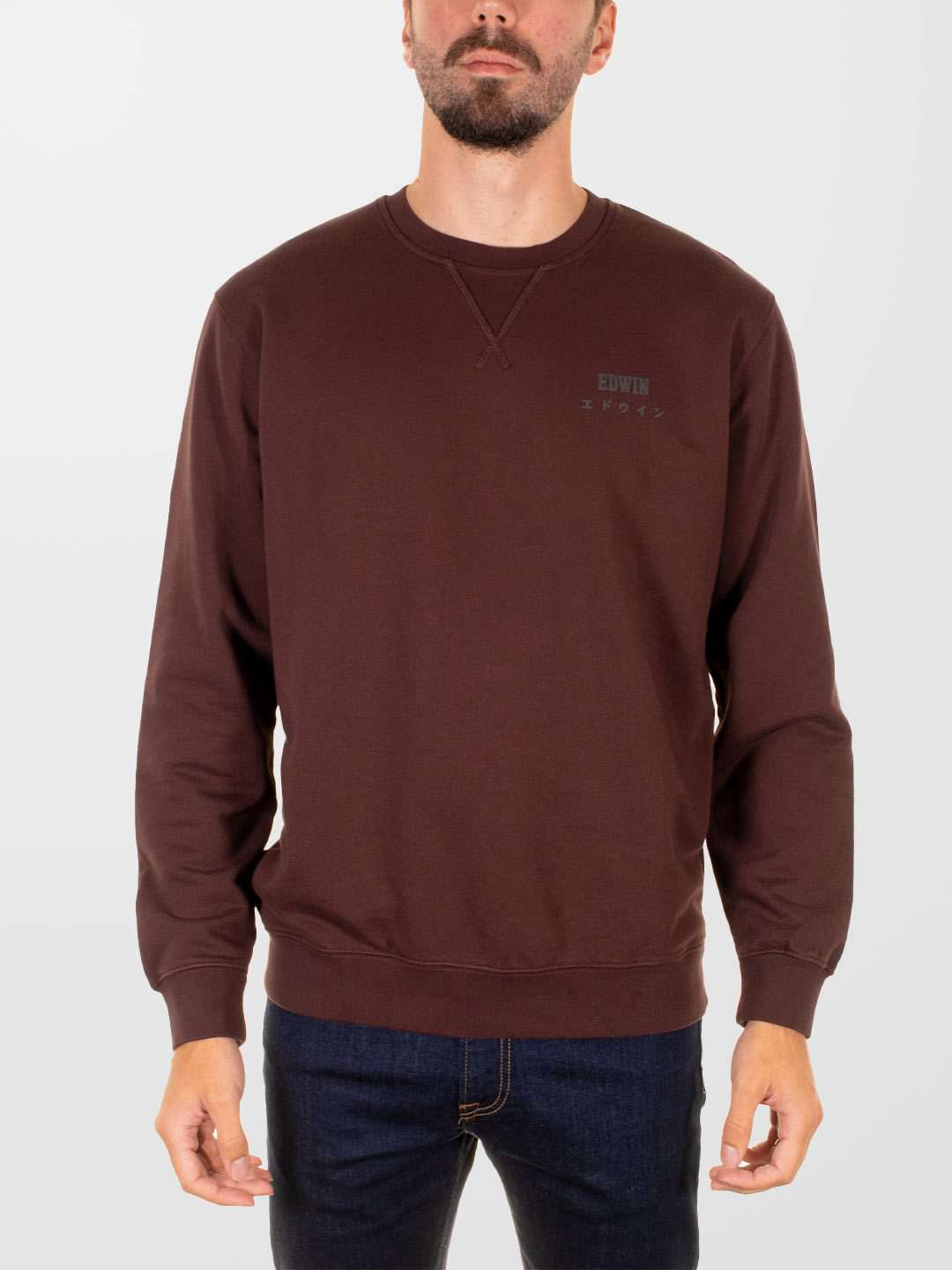 EDWIN Base Crew Sweat