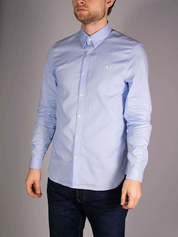 FRED PERRY Button Down LS Shirt - Revolver Menswear Bawtry