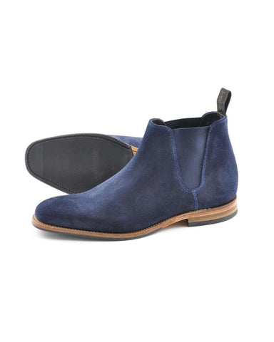 LOAKE Caine Suede Chelsea Boot - Revolver Menswear Bawtry