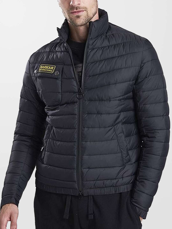 BARBOUR INTL. Chain Baffle Quilted Jacket