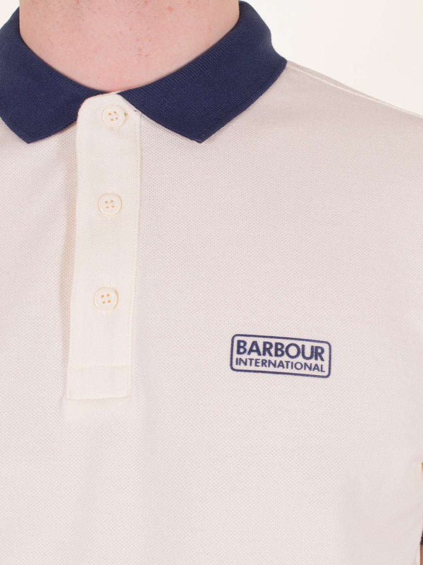 BARBOUR INTL. Contrast SS Polo - Revolver Menswear Bawtry