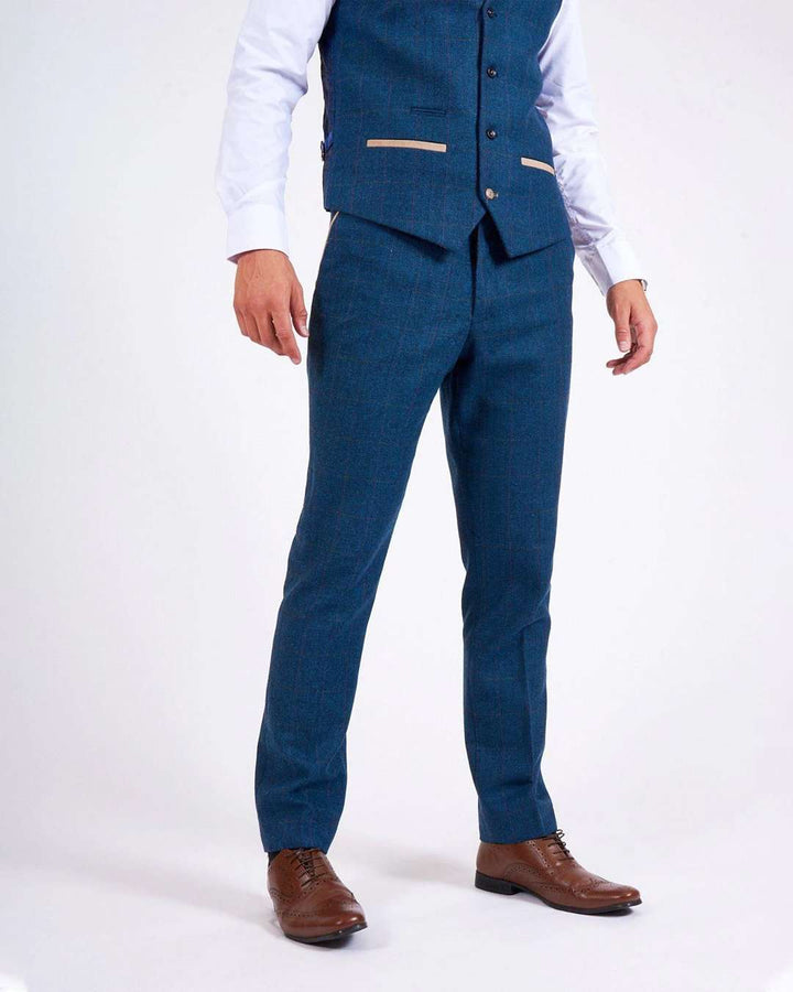Marc Darcy Dion Blue Trousers