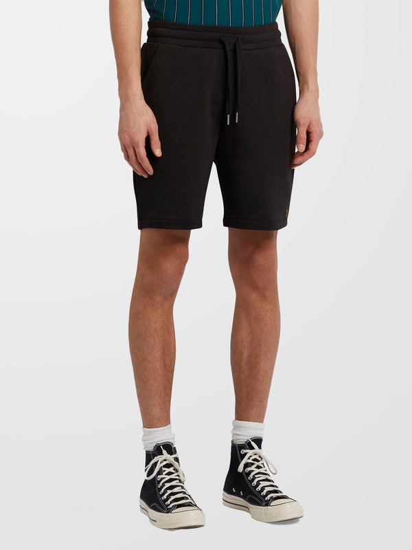 FARAH Black Durrington Jersey Shorts