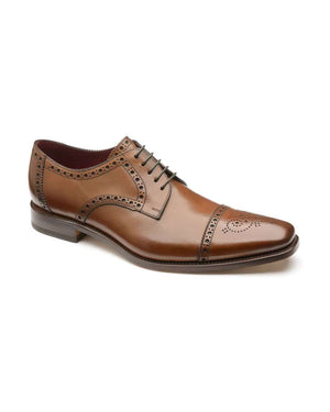 Loake Foley Hazelnut Calf Brogue