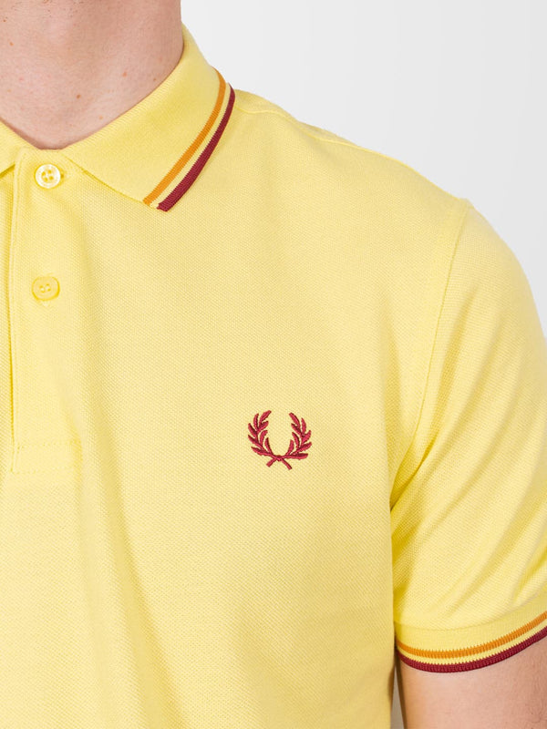 FRED PERRY Limelight Twin Tipped SS Polo Shirt