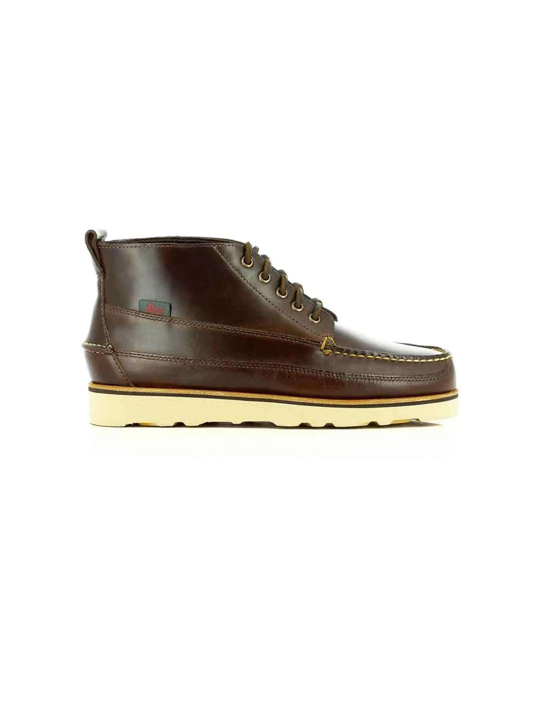 G H BASS & CO Leather Camp Moc III Pull Up Ranger - Revolver Menswear Bawtry