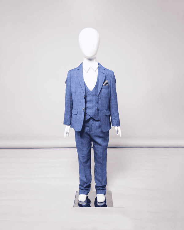 MARC DARCY George Kids 3 Piece Suit - Revolver Menswear Bawtry