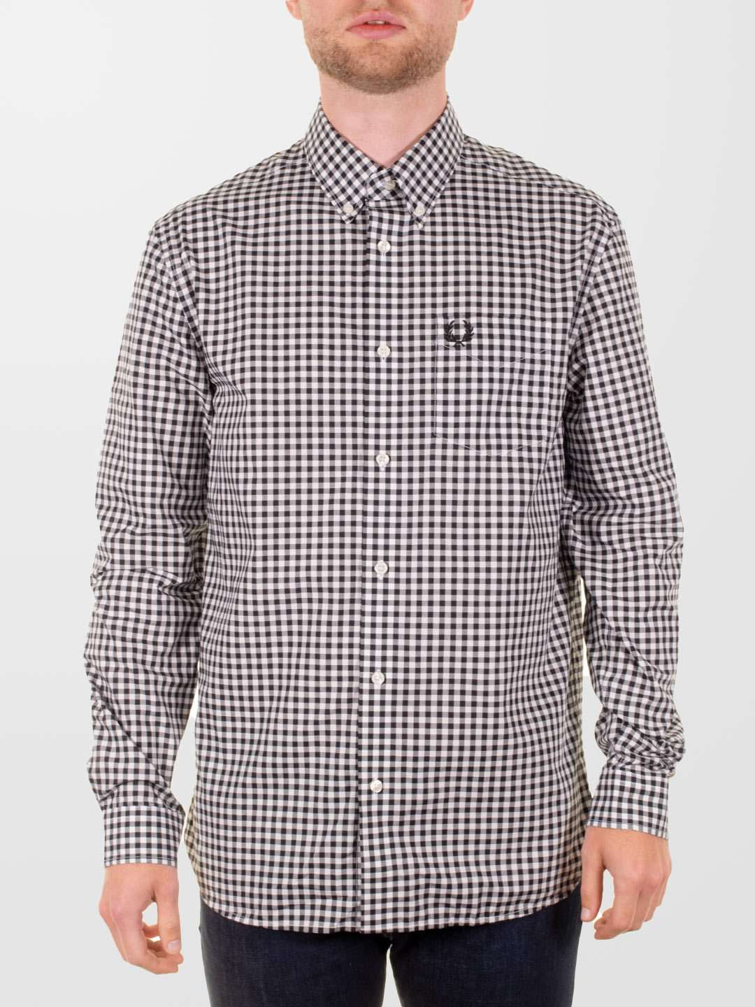 FRED PERRY Gingham LS Shirt