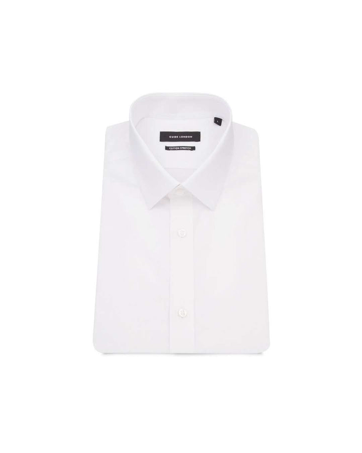 Guide London White Half Sleeve Shirt