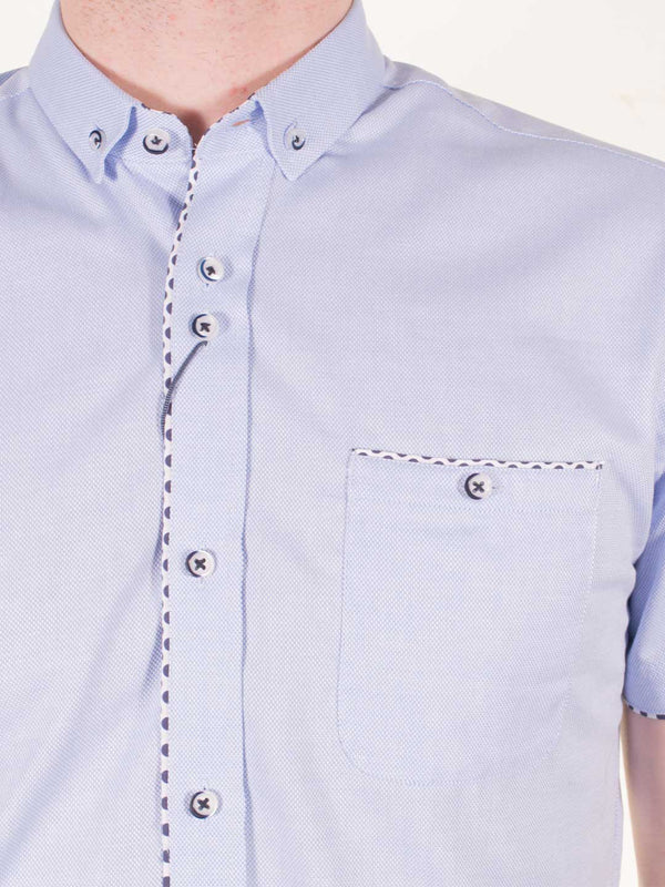 GUIDE LONDON Oxford Cotton SS Shirt - Revolver Menswear Bawtry