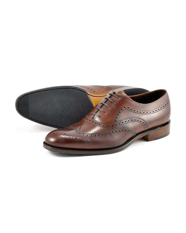 LOAKE Heston Oxford Brogue - Revolver Menswear Bawtry