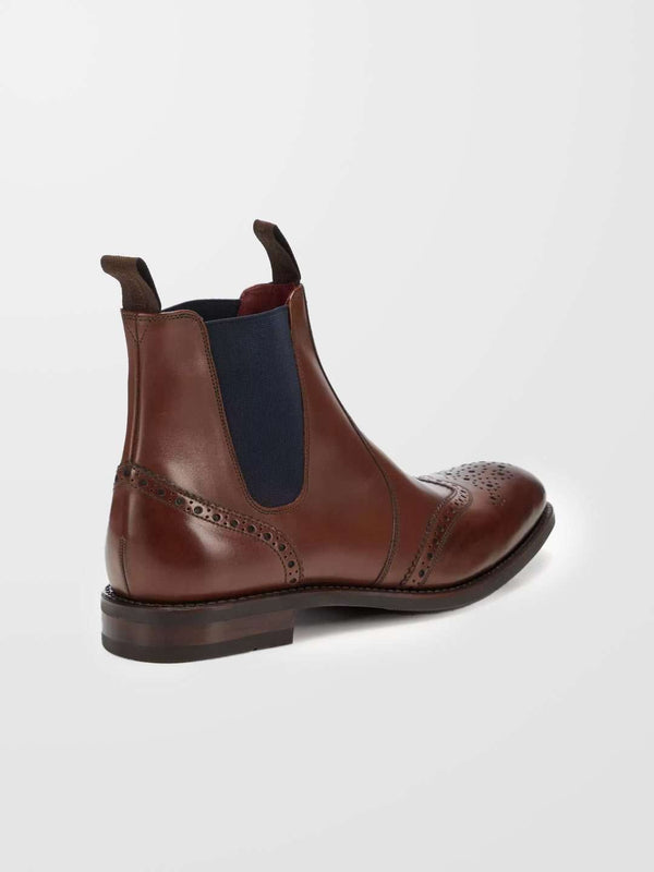 LOAKE Hoskins Leather Chelsea Boot