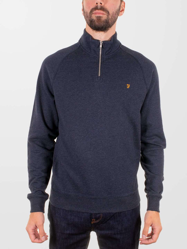 FARAH Jim 1/4 Zip Sweatshirt
