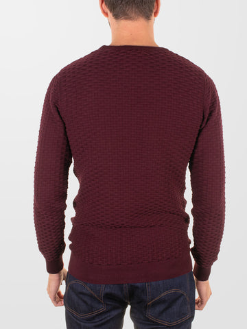 GUIDE LONDON Textured Crew Knit