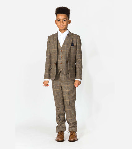MARC DARCY Ted Kids 3 Piece Suit - Revolver Menswear Bawtry