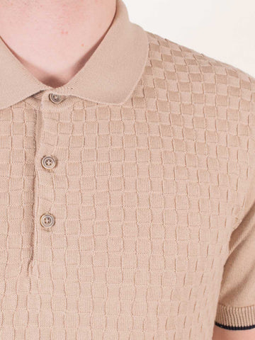 GUIDE LONDON Fine Knitted SS Polo - Revolver Menswear Bawtry