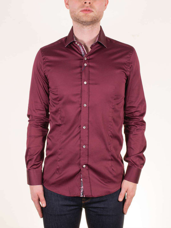 GUIDE LONDON Pure Cotton LS Shirt - Revolver Menswear Bawtry