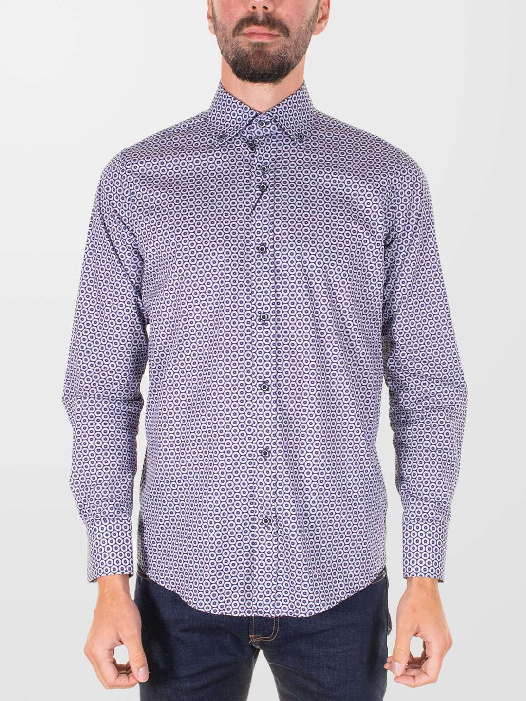 GUIDE LONDON Circles LS Shirt