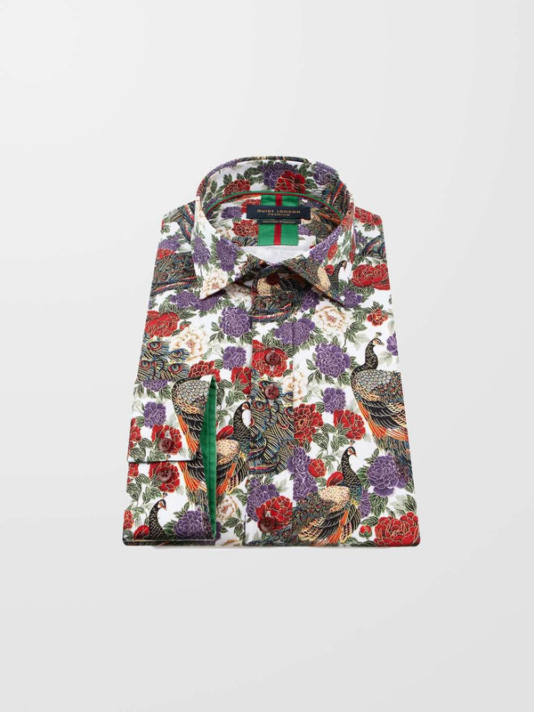 GUIDE LONDON Long sleeve Printed Shirt