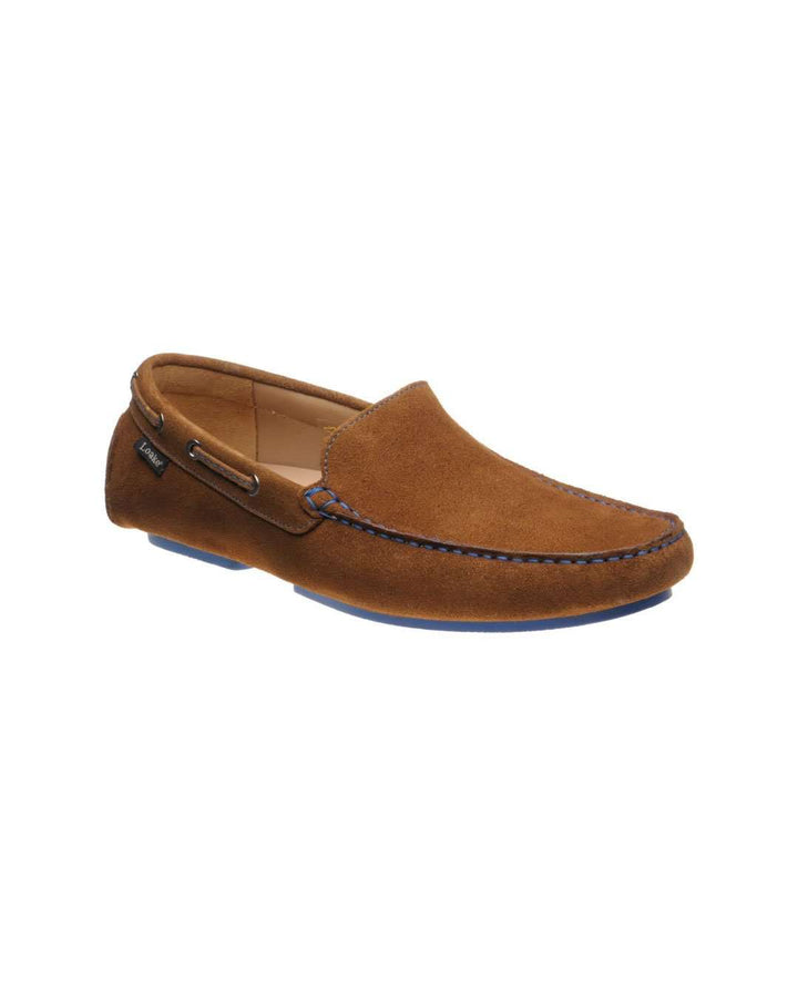 Loake Donington Tan Driving Shoe