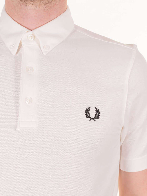 FRED PERRY Button Down SS Polo - Revolver Menswear Bawtry
