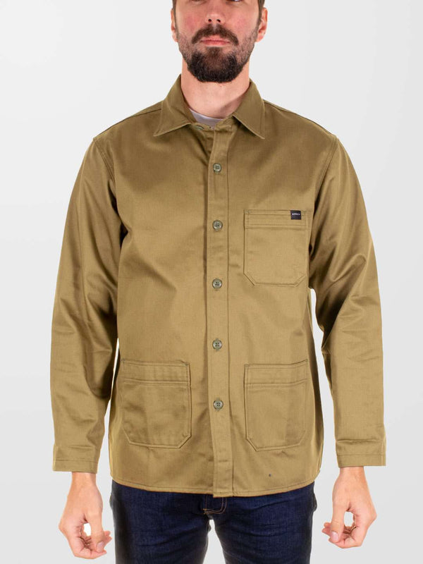 EDWIN Major Shirt Back Sateen