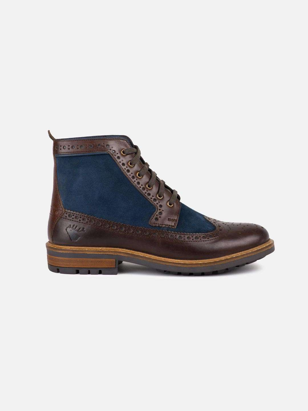 GOODWIN SMITH Marshall Leather Brogue Boot - Revolver Menswear Bawtry