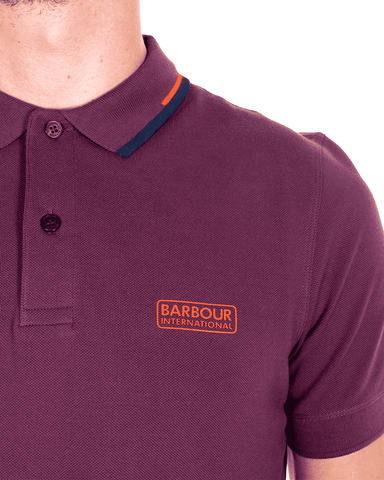 BARBOUR INTL. Twin Tipped Polo - Revolver Menswear Bawtry