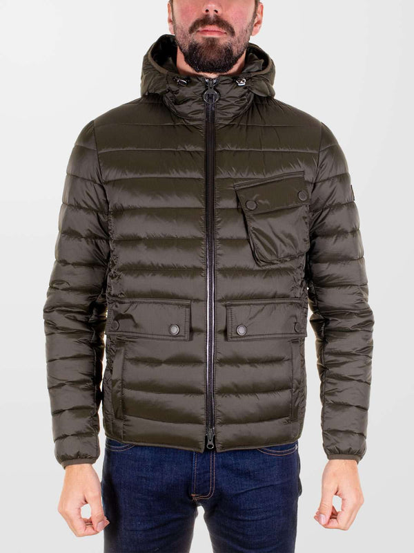 BARBOUR INTL. Ouston Hooded Quilted Jacket
