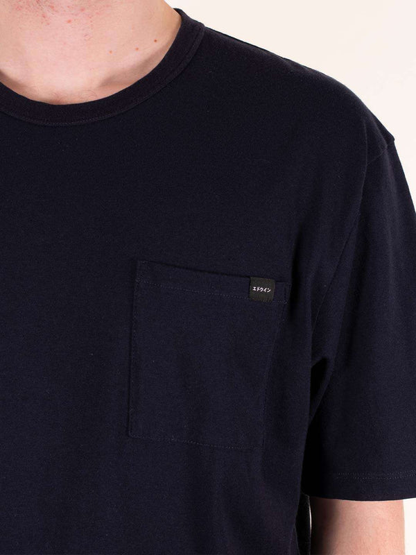 EDWIN Oversized Pocket Tee