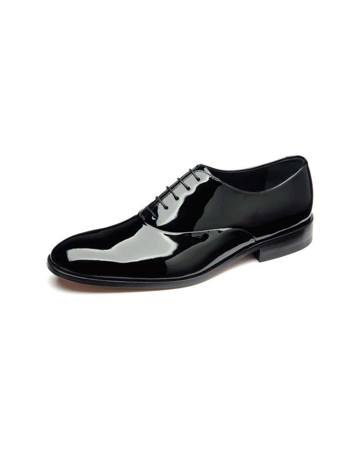 Loake Patent Black Leather Dress Shoe
