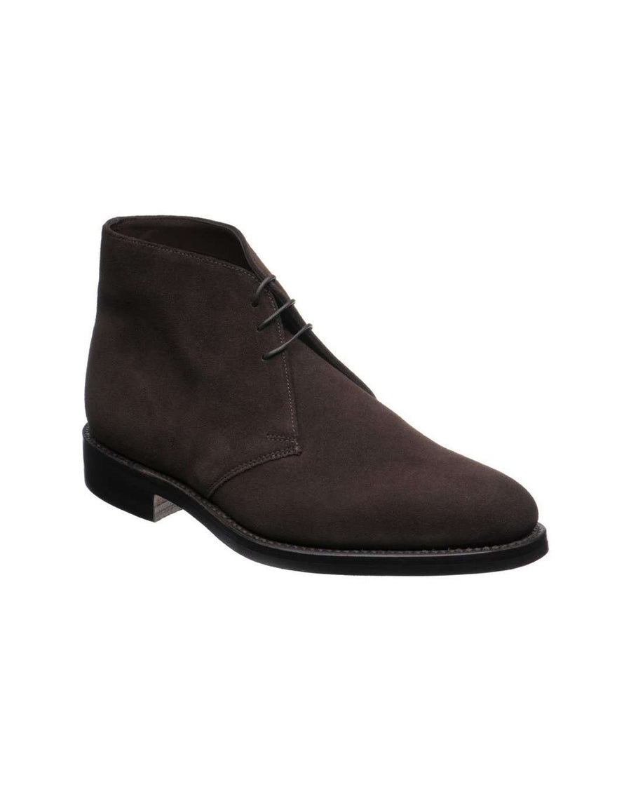 Loake Dark Brown Pimlico Suede Chukka Boot