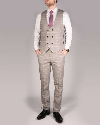 MARC DARCY Ross Check Trousers - Revolver Menswear Bawtry