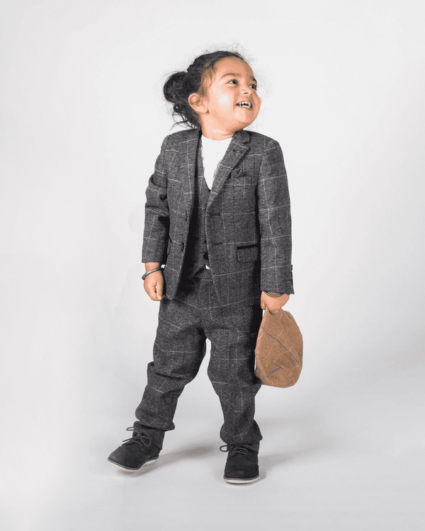 MARC DARCY Scott Kids 3 Piece Suit - Revolver Menswear Bawtry