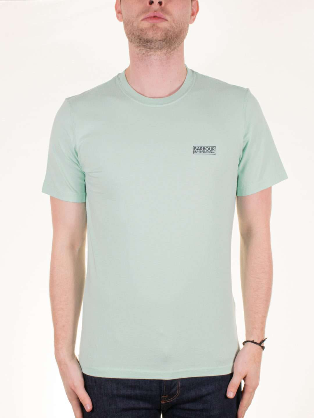BARBOUR INTL. Small Logo SS T-Shirt - Revolver Menswear Bawtry