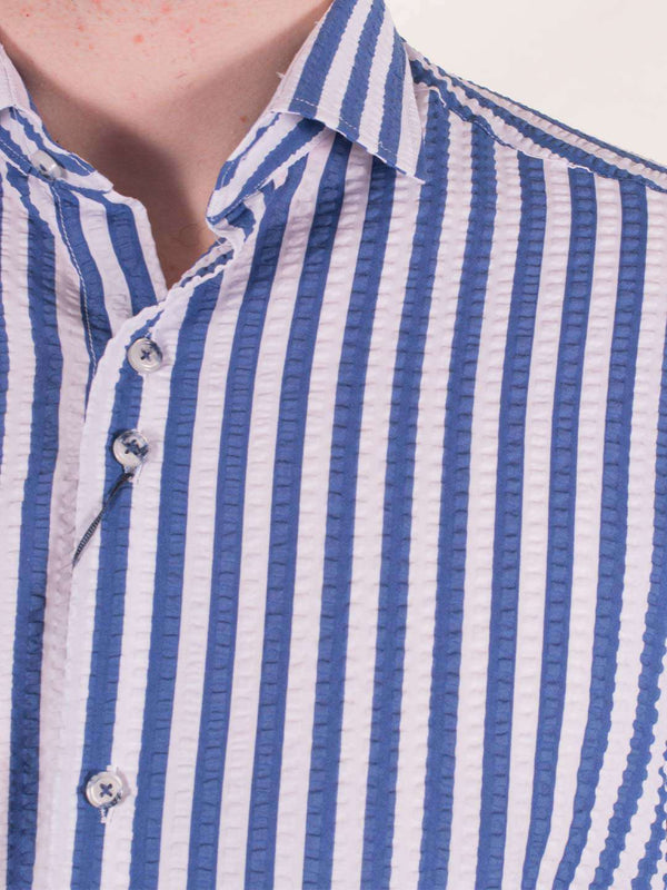 GUIDE LONDON Stripe LS Shirt