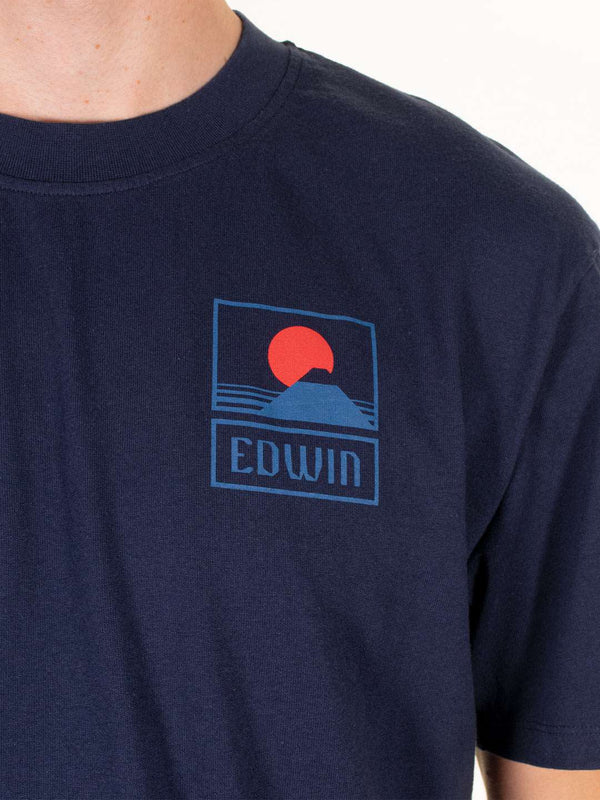 EDWIN Sunset On Mt Fuji Tee