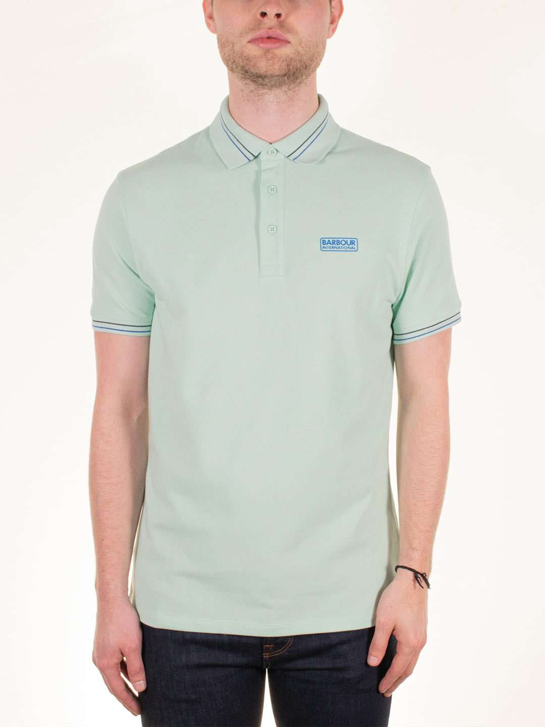 BARBOUR INTL. Switch Tipped Polo - Revolver Menswear Bawtry