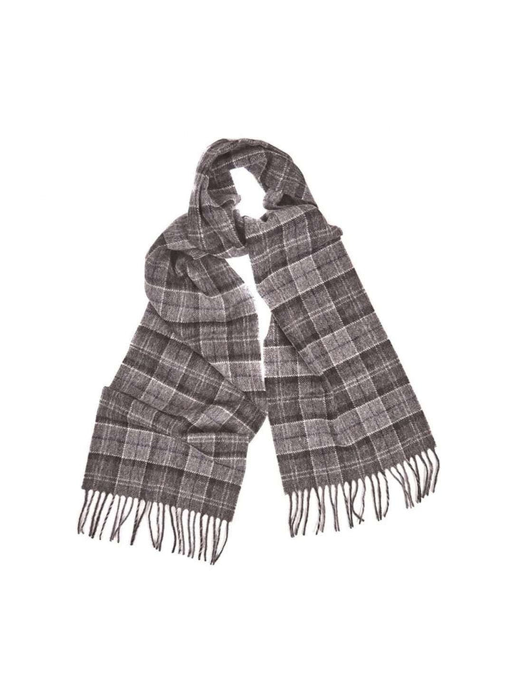 BARBOUR Tartan Lambs Wool Scarf