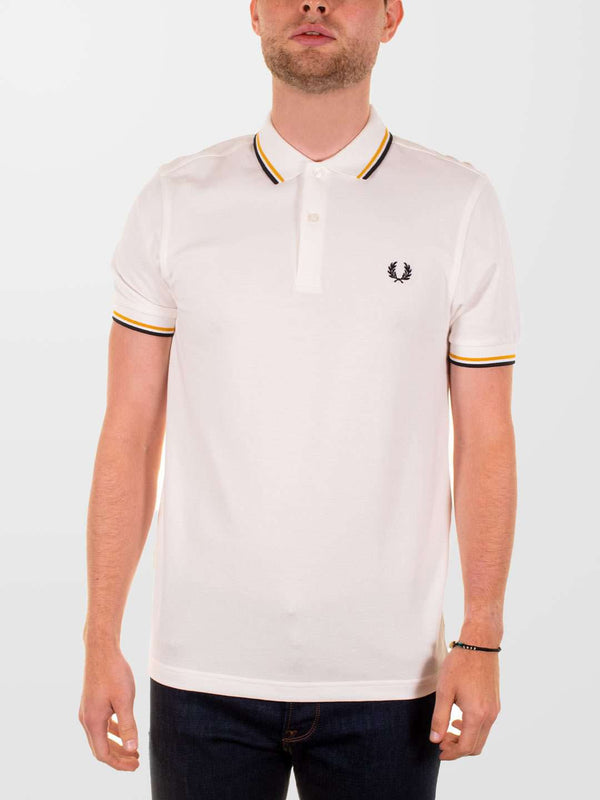 FRED PERRY Twin Tipped SS Polo Shirt