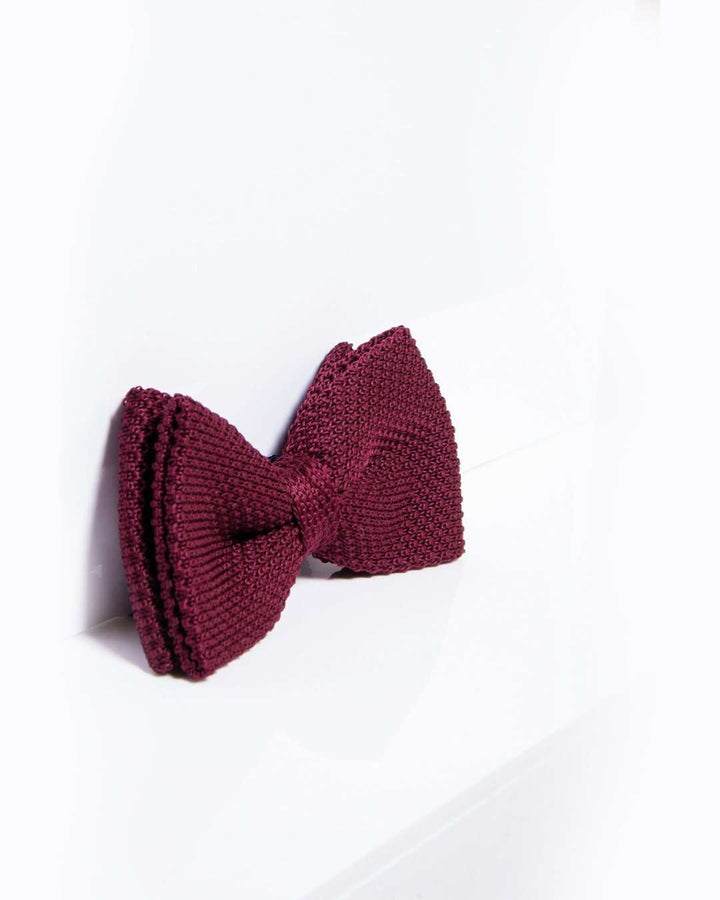 Marc Darcy Check/Tweed/Knitted Bow Tie