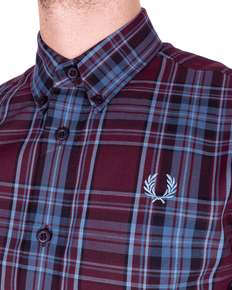 FRED PERRY Winter Tartan LS Shirt
