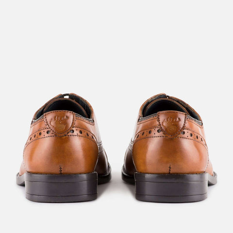 GOODWIN SMITH Ealing Leather Brogue - Revolver Menswear Bawtry
