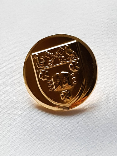 Gold Gilt Button