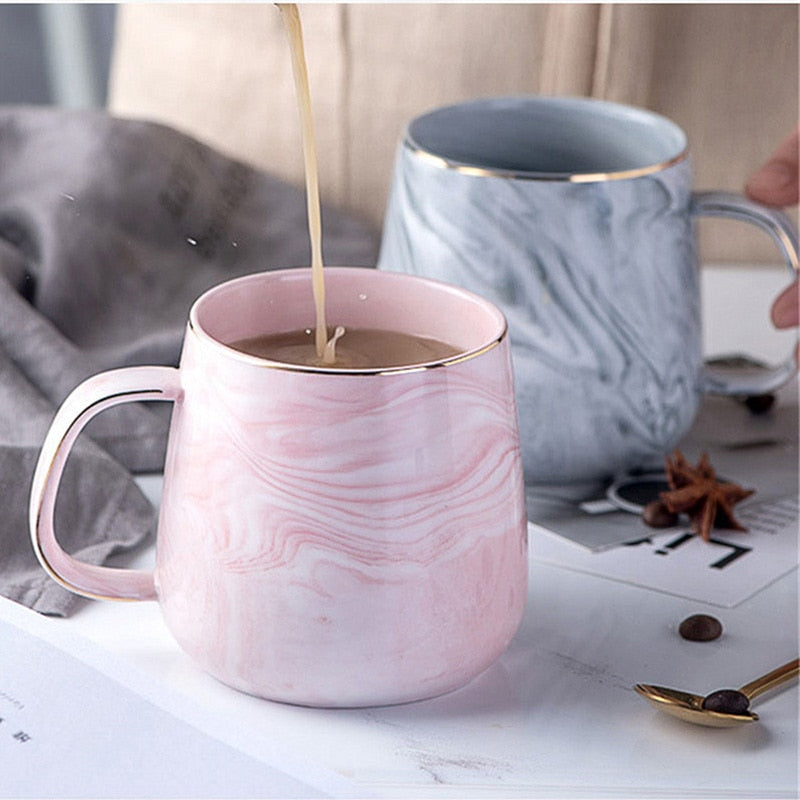 Marble Coffee Mugs