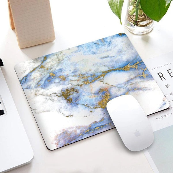 Square Marble Desk Mat
