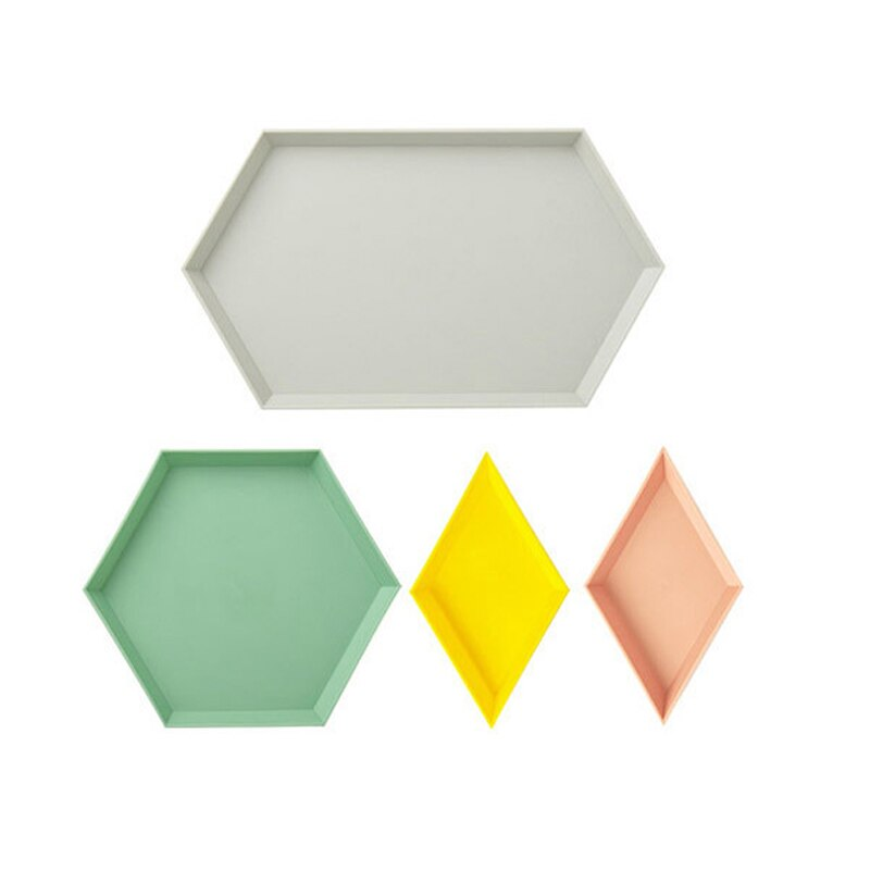 Geometric Colorful Tray